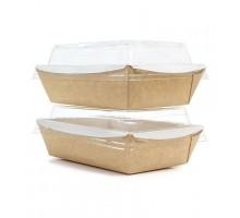 Контейнер бумажный Meal Box, 1000 мл (крафт)