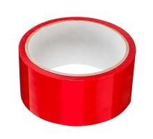Клейкая лента красного цвета , 4,8смх50м