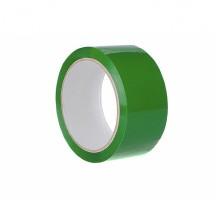 Клейкая лента зеленого цвета, размером 4,8ммх50м