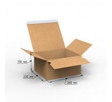 Коробка 260х220х130, Т-24 с клеевым клапаном