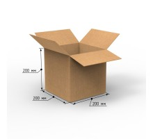 Коробка 200х200х200, Т-22