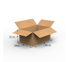 Коробка 300х200х150, П-32