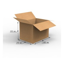Коробка 305х215х220, Т-22