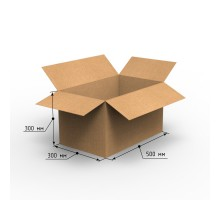 Коробка 500х300х300, Т-23