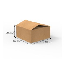 Коробка 500х500х250, Т-23