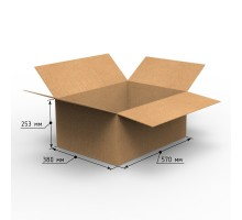 Коробка 570х380х253, Т-24
