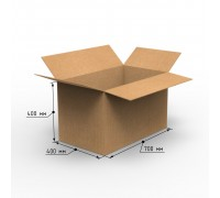 Коробка 700х400х400, Т-23