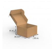 Коробка почтовая самосборная 160х160х80 профиль E