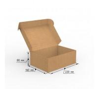 Коробка почтовая самосборная 220х160х80 профиль E