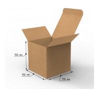 Коробка самосборная 150х150х150 с ушками, профиль E