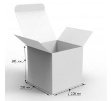 Коробка самосборная 200х200х200 с ушками, профиль E