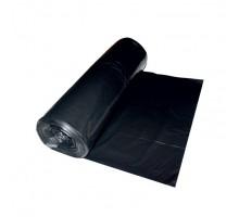 Мешок для мусора черный 120 л.(40мкм.) (пвд) рулон