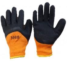 Зимние акриловые перчатки поливинилхлоридные утепленные торро