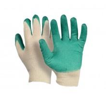 Перчатки хлопчатобумжаные 13 кл. С латексным покрытием