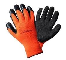 Перчатки теплые с резиновым покрытием для стекольщика