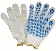 Рабочие перчатки из натурального хлопка без пвх напыления, 5 нитей, класс 10