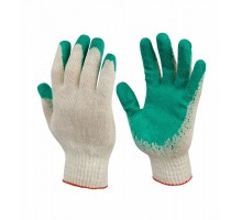 Хлопчатобумажные перчатки обливные