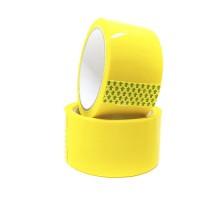 Скотч цветной желтый 48 мм x 40 м (45 мкм)