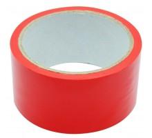 Скотч цветной красный 48 мм x 40 м (45 мкм)