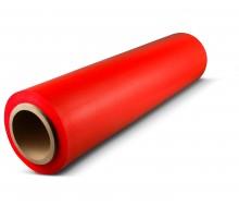 Стрейч-пленка красного цвета 500 мм, 1,2 кг