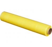 Стрейч-пленка желтого цвета 500 мм, 1,2 кг
